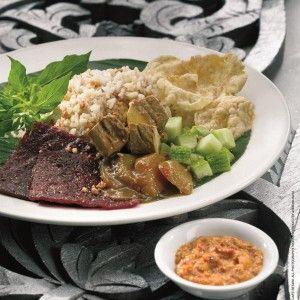Nasi Ulam, Jakarta - Indonesian Rice Dish