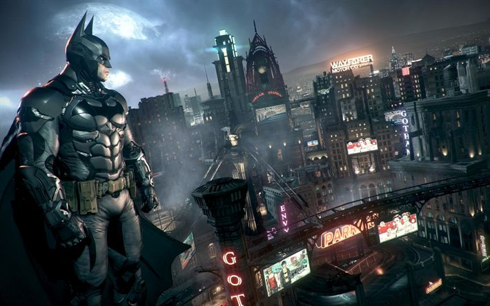 Download wallpapers Batman, Gotham by Gaslight, 2018, Gotham City, superhero, promo materials, poster, new film