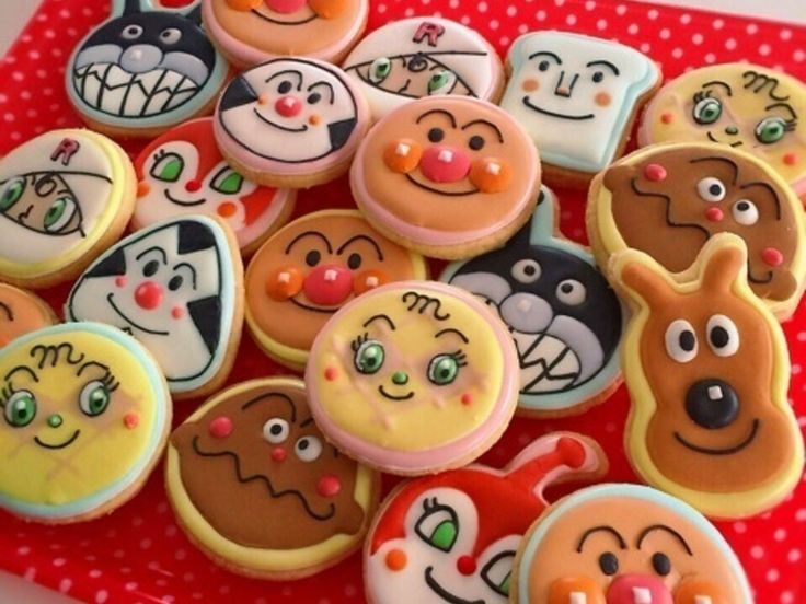 アンパンマンと仲間たち★アイシングクッキー