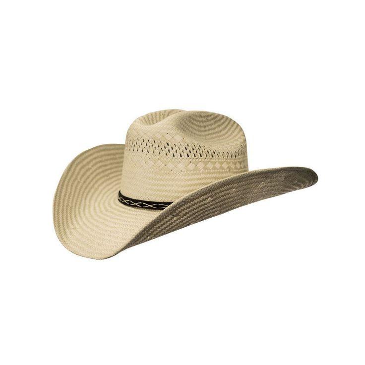 Cappello in paglia traforata superiore