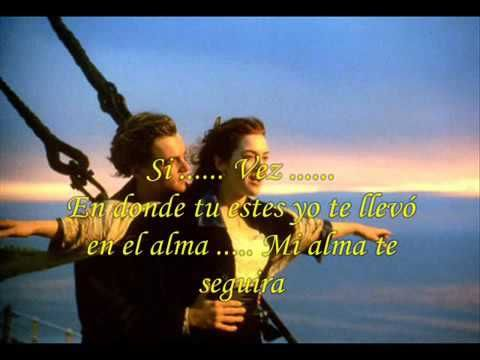 titanic ' cancion en español ' con letra - YouTube