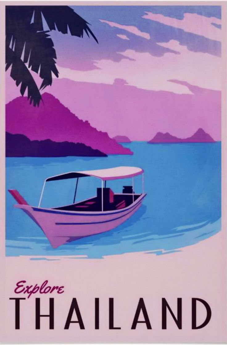 Old and vintage Thailand travel and holiday posters and postcards. http://islandinfokohsamui.com/