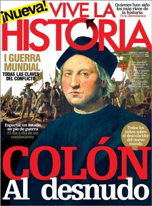 palma2mex aquí encontraras algo diferente: Colón al desnudo en revista vive la historia