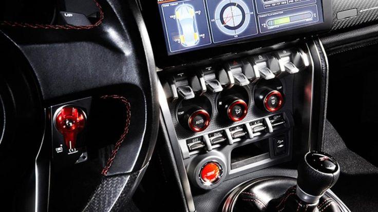 2016 Subaru Brz Sti Interior Tech
