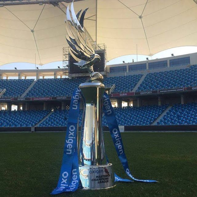 Cricket History: Masters Champions League trophy has been unveiled....
