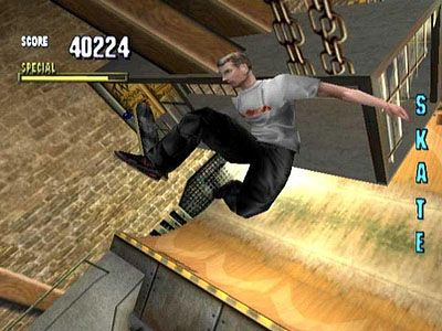 Tony Hawk's Pro Skater - This game is similar to crack, probably. I haven't tried crack.
