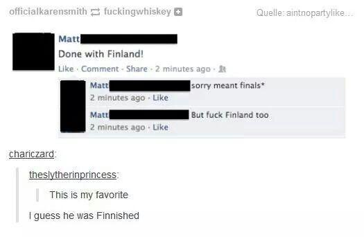 Fuck Finland too, tumblr funny