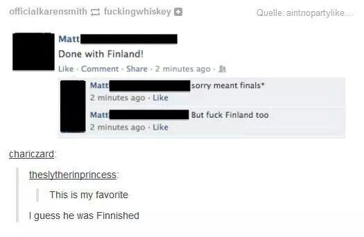 Fuck Finland too, tumblr funny