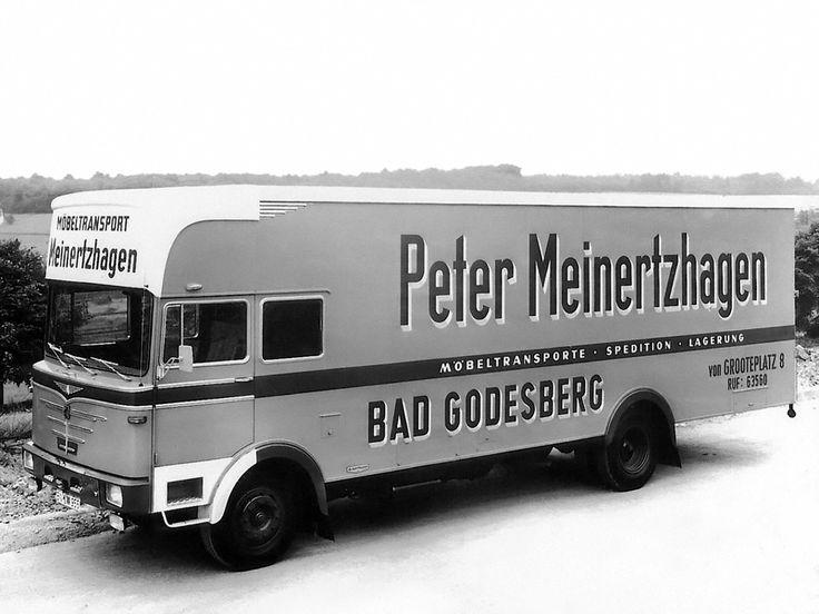 Büssing BS 12 FSA Möbelwagen