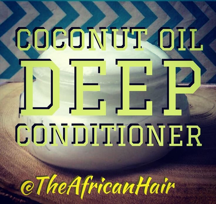Coconut oil deep condtioner