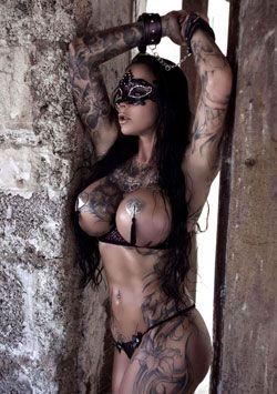 Sharon Phoenix im Erotik-Set von extravagant-dessous