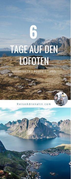 Guia de viagens Norte da Noruega: de Lofoten a Nordkapp- Parte 1: Lofoten   – REISETIPPS ★  Reiseziele, Wandern, Outdoor, Hotels ★  Gruppenboard