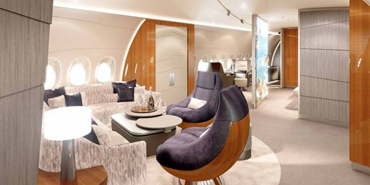 Lufthansa's all new VIP Airbus A350 private jet