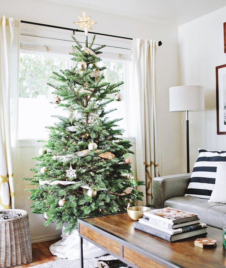 We put up our tree this weekend. A straight-from-Oregon noble fir with just enough imperfection to make it charming.