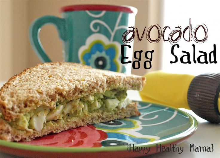 chicken avocado egg salad recipe