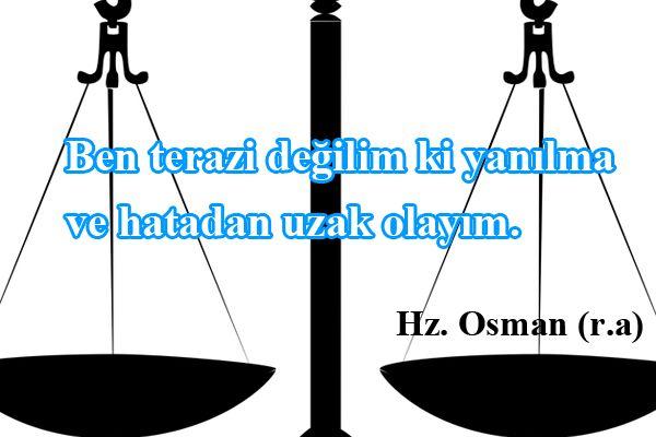 Hz Osman Sözleri