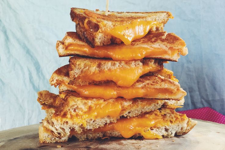 The Grilled Cheese, Please delivery box From Mouth.com is fully loaded with all the jams, pickles and cheeses to make the perfect grilled cheese sandwich.