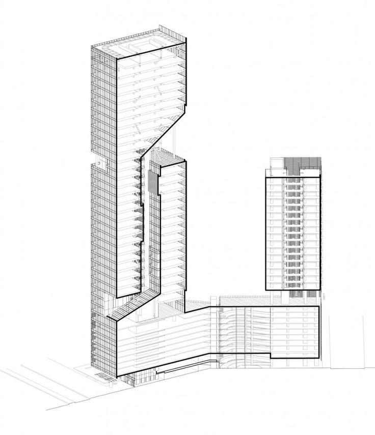 Reforma Towers – Richard Meier & Partners Architects