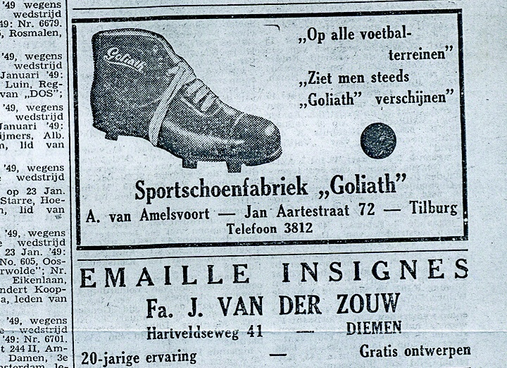 Goliath Sportswear | Since 1925. #goliath #sportswear