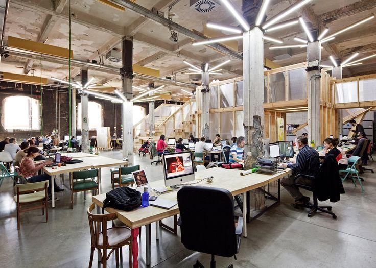 Factoria Cultural Matadero is a creative incubator in Madrid