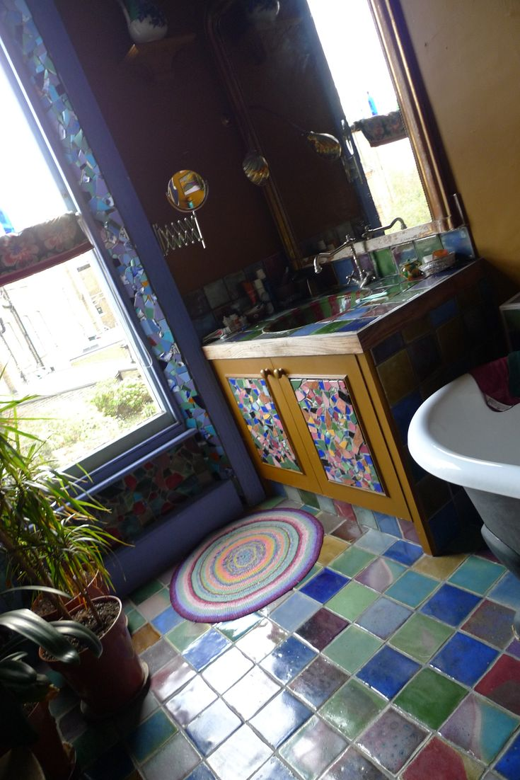 146 best baths fun u0026 funky tile images on pinterest bathroom