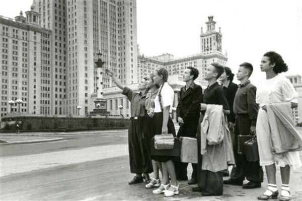 Первые студенты МГУ, 1953 г.