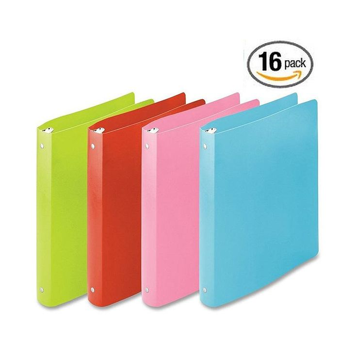 Best 25 1 inch binder ideas on pinterest five star notebook 16 pack wilson jones accohide round ring binder 1 inch capacity letter size pronofoot35fo Images