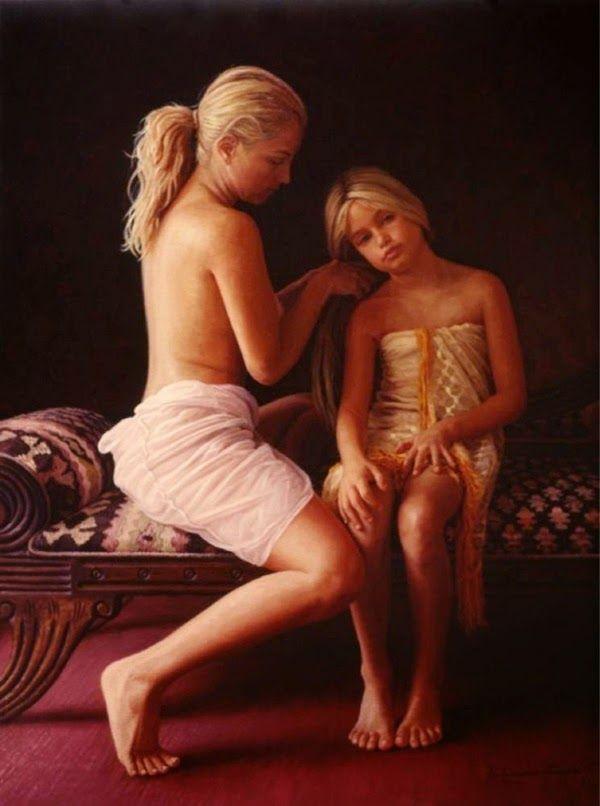 nude daughter art