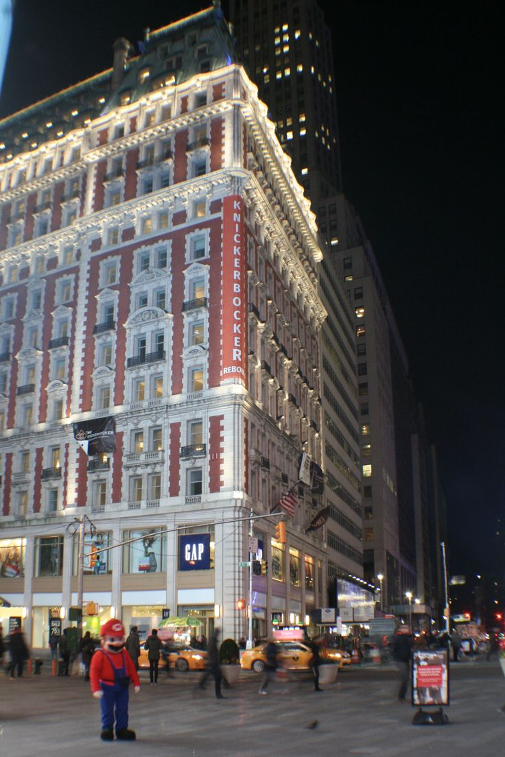 On The Famed Corner Of 42nd And Broadway Knickerbocker Is Emerging Once Again As New York Hotelsleading