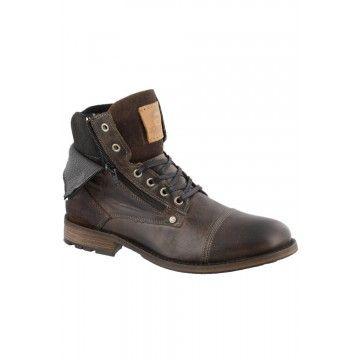 Bullboxer - Veter Boots - Heren | schoenen koop je bij Mishoe.nl