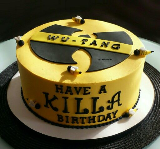 Wu Tang Cake Have A Killa Birthday My Cakes