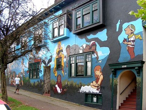 34 best images about vancouver on pinterest front for Best paint to use for outdoor mural