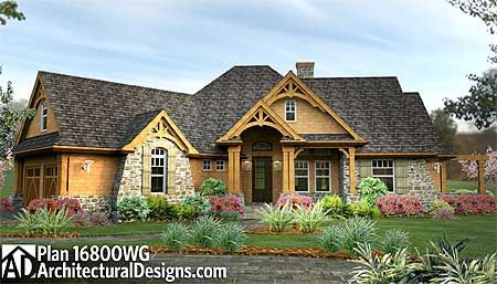 Plan W16800wg Craftsman Mountain Cottage Corner Lot