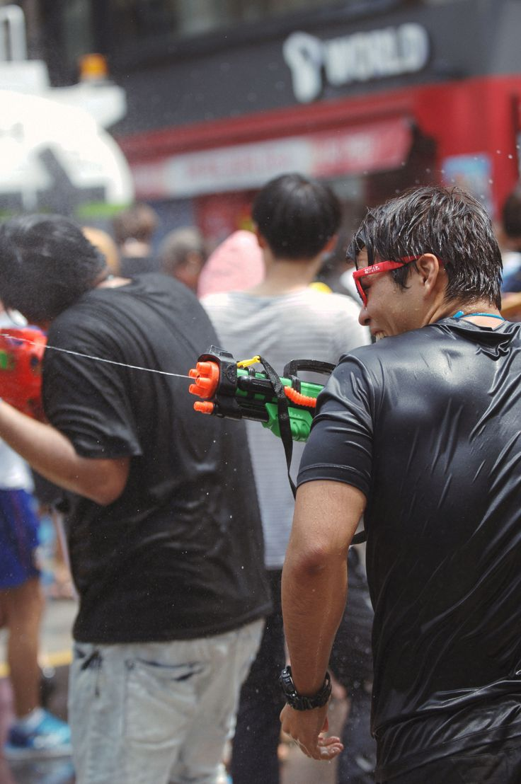festival, 축제, 물총축제, 신촌, 물총