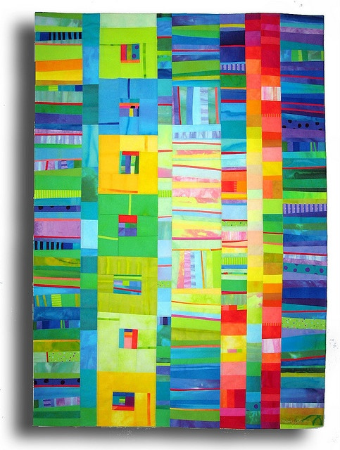 quilt - melody Johnston - love her colors