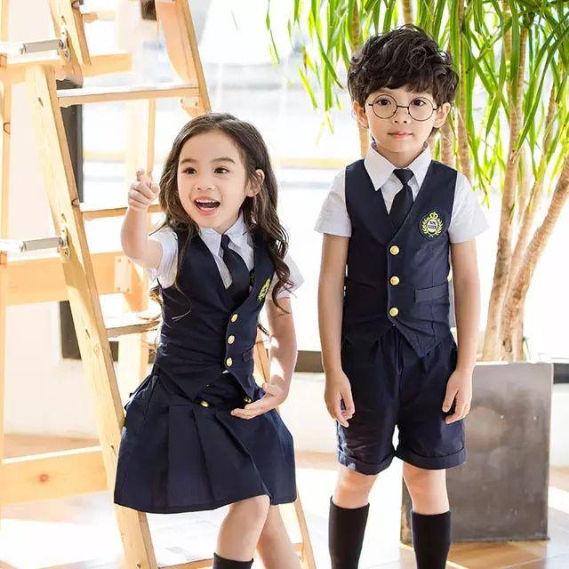 Ninos Estudiante Japones Coreano Preppy Formales Uniformes Escolares Para Ninas Nin Uniformes Escolares De Nina Uniformes Escolares Bonitos Uniformes Escolares