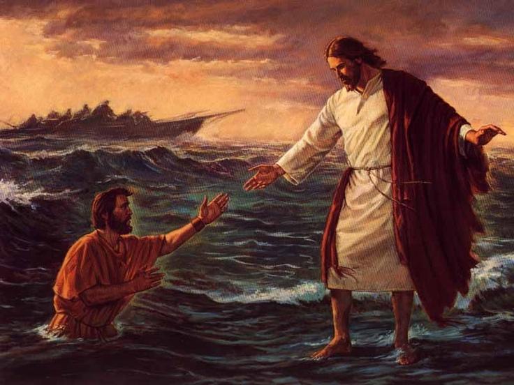 Et ouais Pierre, t'es pas Jésus!