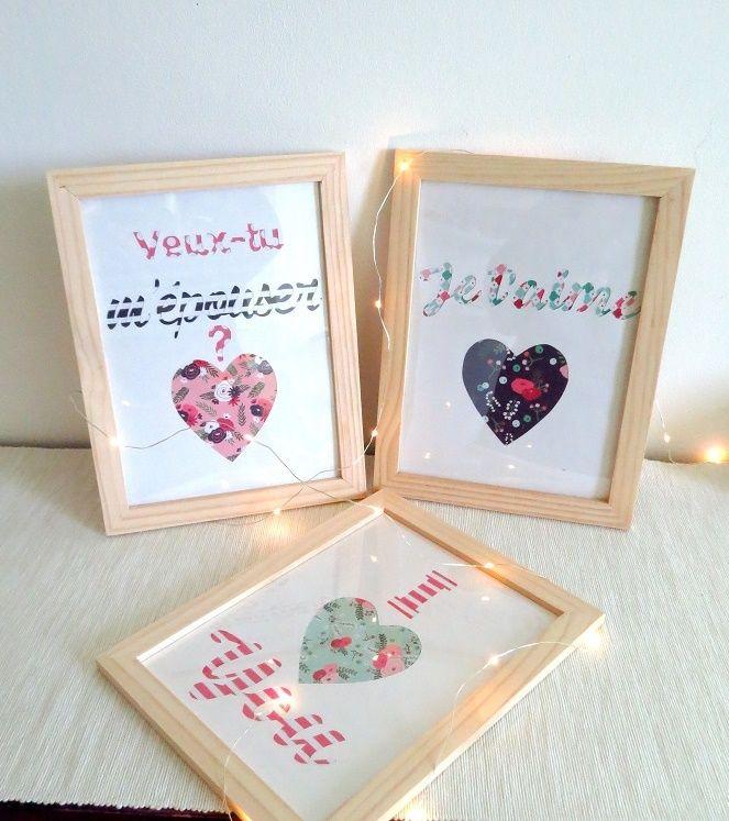 J-15 avant la Saint Valentin ! Et si vous surpreniez votre moitié avec un cadeau personnalisé ? Ces affiches à message coloré sont le cadeau parfait pour une Saint Valentin pleine de surprise !