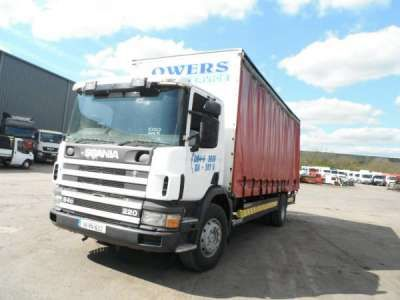 1998 Scania 4 Series 94 Curtainsiders For Sale in Nottingham