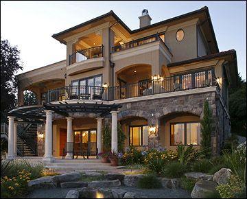 Toscano Sul Lago   Demetriou Architects   Custom Home Building And  Remodeling Bellevue, Kirkland,