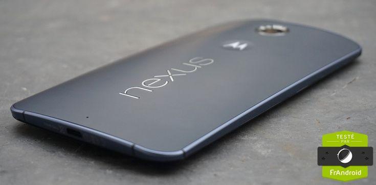 Le Motorola Nexus 6, rajouté par Vincent Sergere
