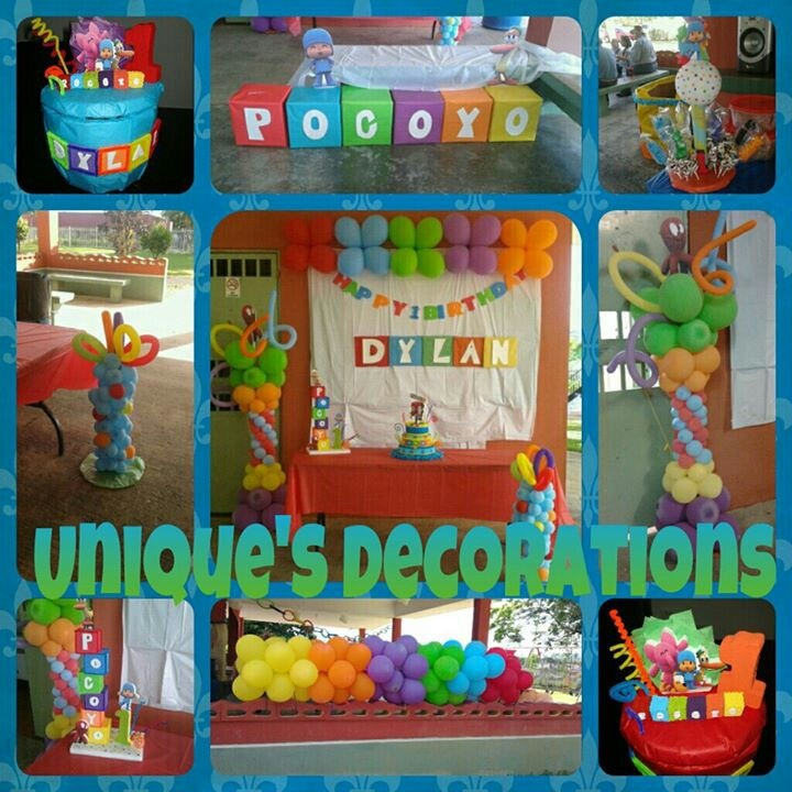 2nd Birthday Pocoyo Party Ideas
