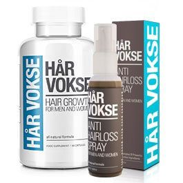 Har Vokse overcomes this problem with the hair growth supplement. It contains vital levels of zinc gluconate, fish proteins and amino acids. These ingredients is what your body needs in order to restart the growth of hair follicles. Har Vokse doesn't treat hair baldness nor stop hair loss for short amount of time and that's it! No, This product is designed to treat hair loss permanently and regenerate new hair follicles.