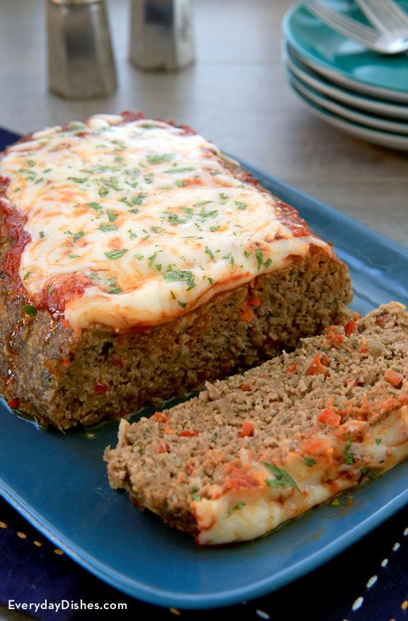 We've updated a classic favorite dish to include gooey, melted cheese, fresh herbs and spices. Our homestyle Italian meatloaf is hearty, moist and tender. Your family will be pleased to see this dish on the dinner table!