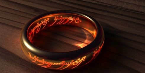 One ring to rule them all and in the darkness bind them: The Lord, Rings Lord, Favorite Things, Ringsth Hobbit, Favorite Movies, Lotr Rings, Dark Binding, Rings Th Hobbit, The Dark