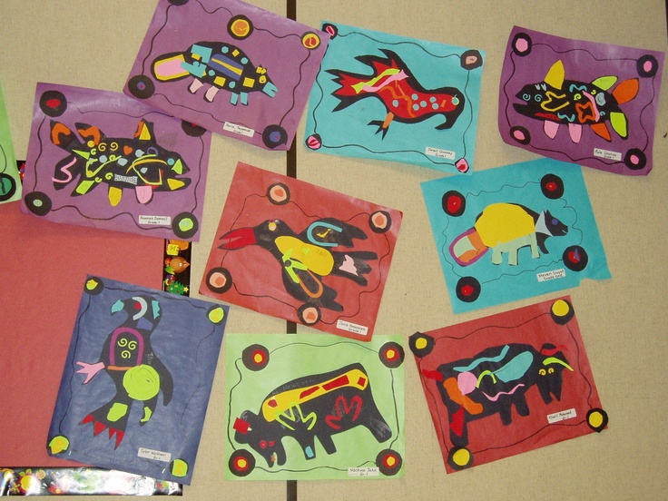 Beautiful native art project-norval morrisseau