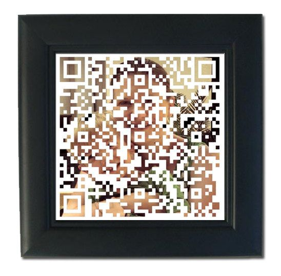 Mother's Day Gift for the iPhone Mom Custom QR by FourHappyFaces, $12.00