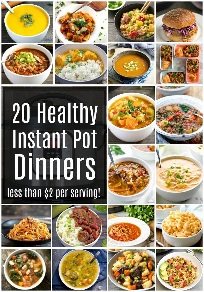 Health dinner instant pot