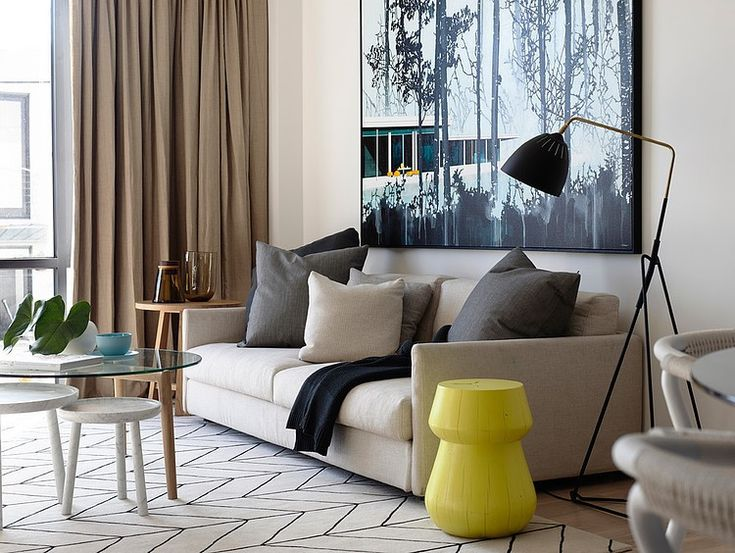 Chambers St Residence By Mim Design. Cozy Living RoomsClassy ... Part 72