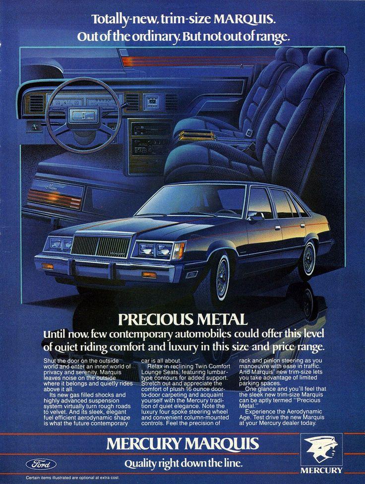 1983 Mercury Marquis Ad (Canada)   Flickr - Photo Sharing!